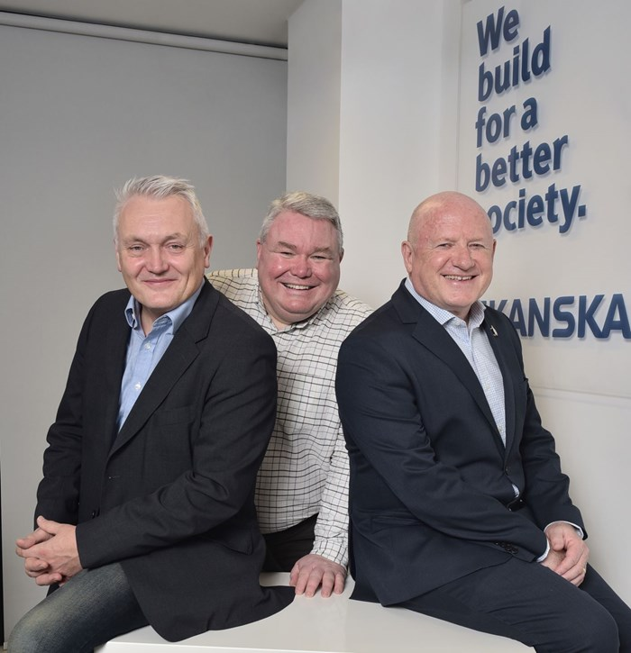 Skanska cements its commitment to Greater Manchester