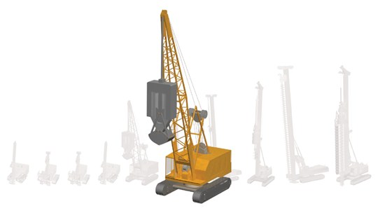 Piling rigs and pile sizes | www skanska co uk