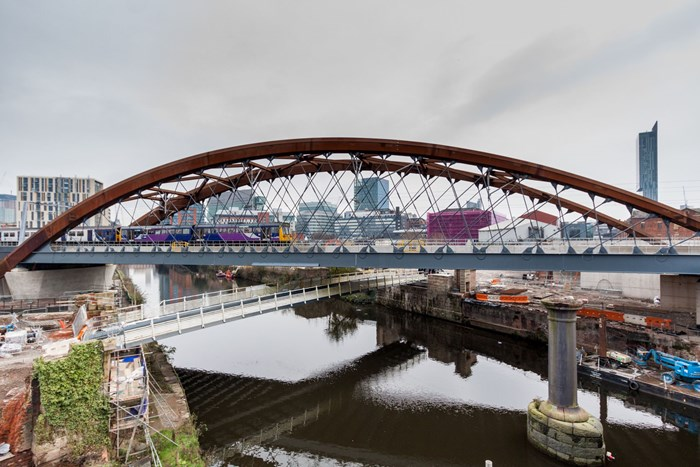Ordsall Chord project receives CEEQUAL 'Excellent' Whole Team Award