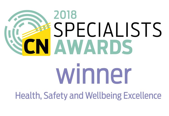 Skanska scoops Construction News Specialist Award for Health, Safety and Wellbeing Excellence