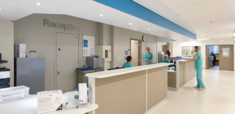 The Barts Heart Centre was a significant change of use project within the fully operational St Bartholomew's Hospital