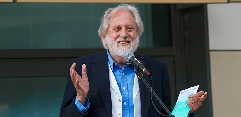 Lord Puttnam CBE officially opens the Bath Spa University 'Commons' building