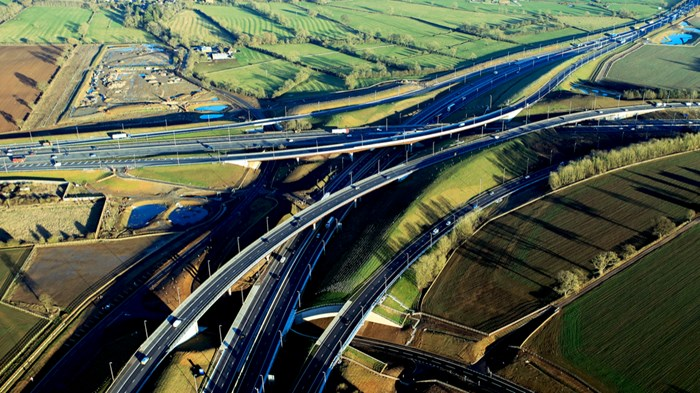 Skanska flagship M1 junction 19 scheme officially opened