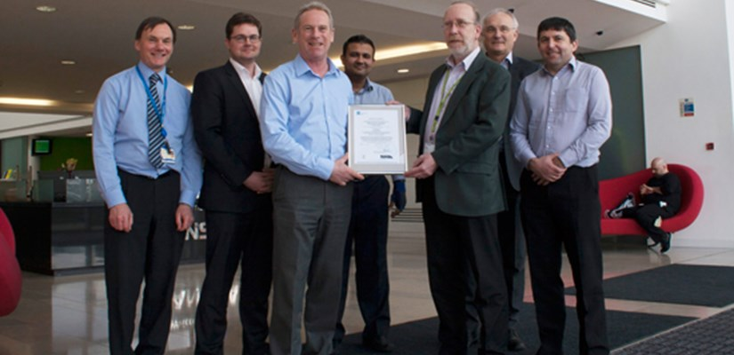 Skanska recognised for its top performing management systems