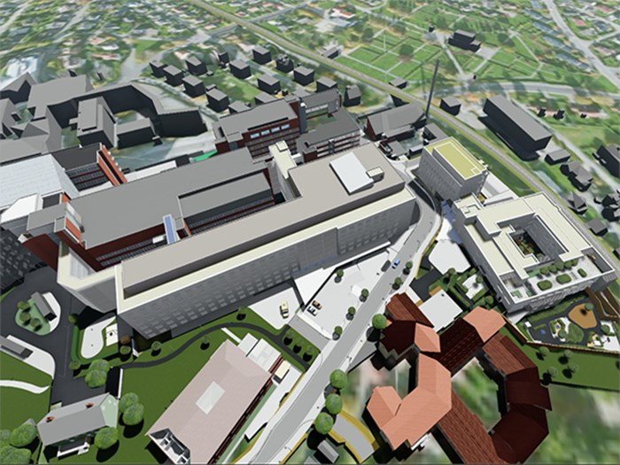 Skanska expertise from UK and Norway to deliver healthcare project