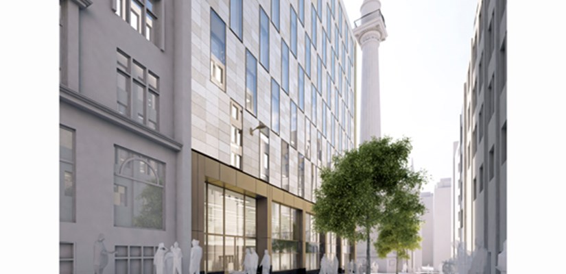 Skanska secures retail pre-let at The Monument Building, London EC3
