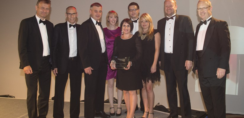 Double winners at Network Rail Awards