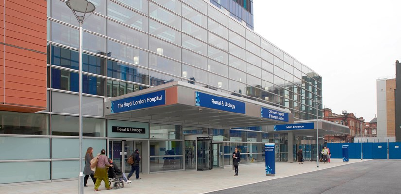 Royal London Hospital team completes latest redevelopment stage