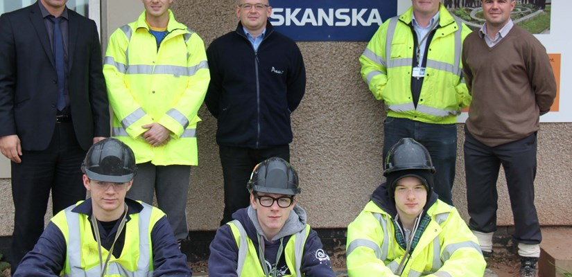Students from Banff and Buchan College spend week at new Peterhead Prison site