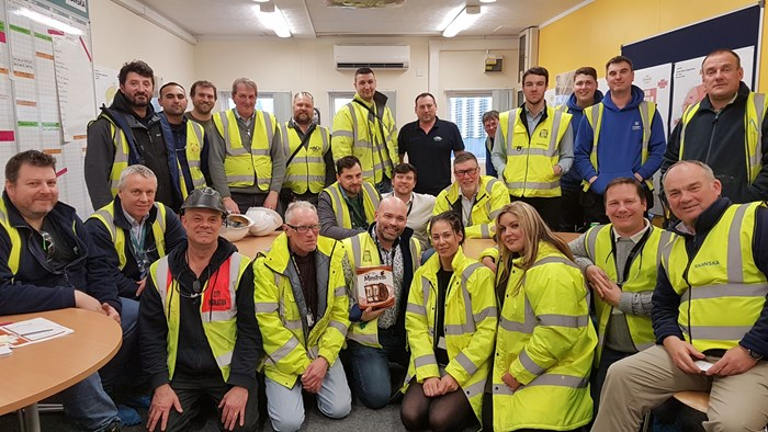 Easter egg-stravaganza for local causes thanks to Skanska's Royal Papworth Hospital project team