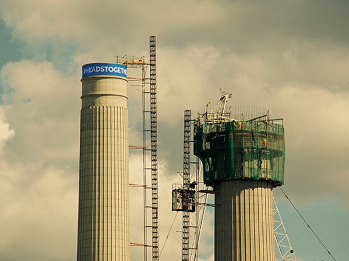 Battersea Power Station supports mental health campaign Heads Together