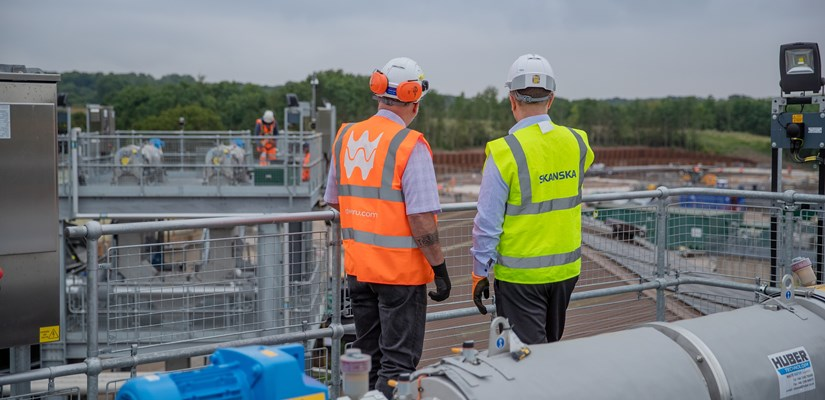 Skanska has secured contracts with Anglian Water and Dŵr Cymru Welsh Water for a further five years to continue into the next asset management period (AMP)