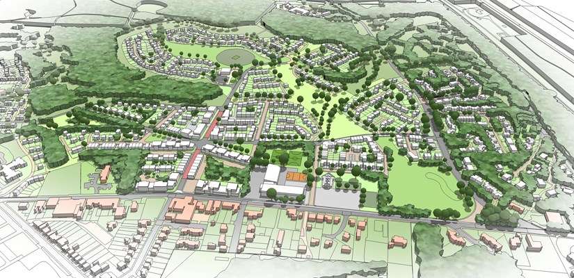 Skanska is creating Mindenhurst - a new neighbourhood in Deepcut, Surrey