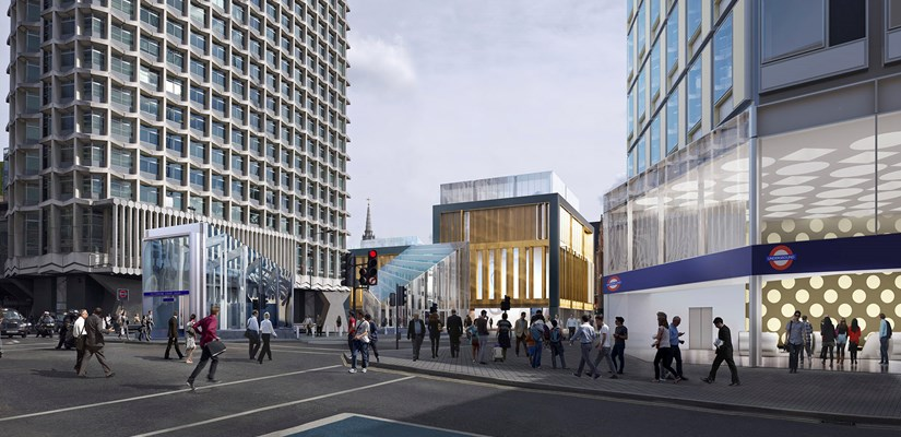 The new St Giles Circus development