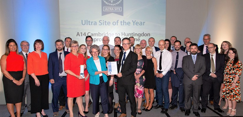 Ultra Site of the Year_A14 Cambridge to Huntingdon Improvement Scheme