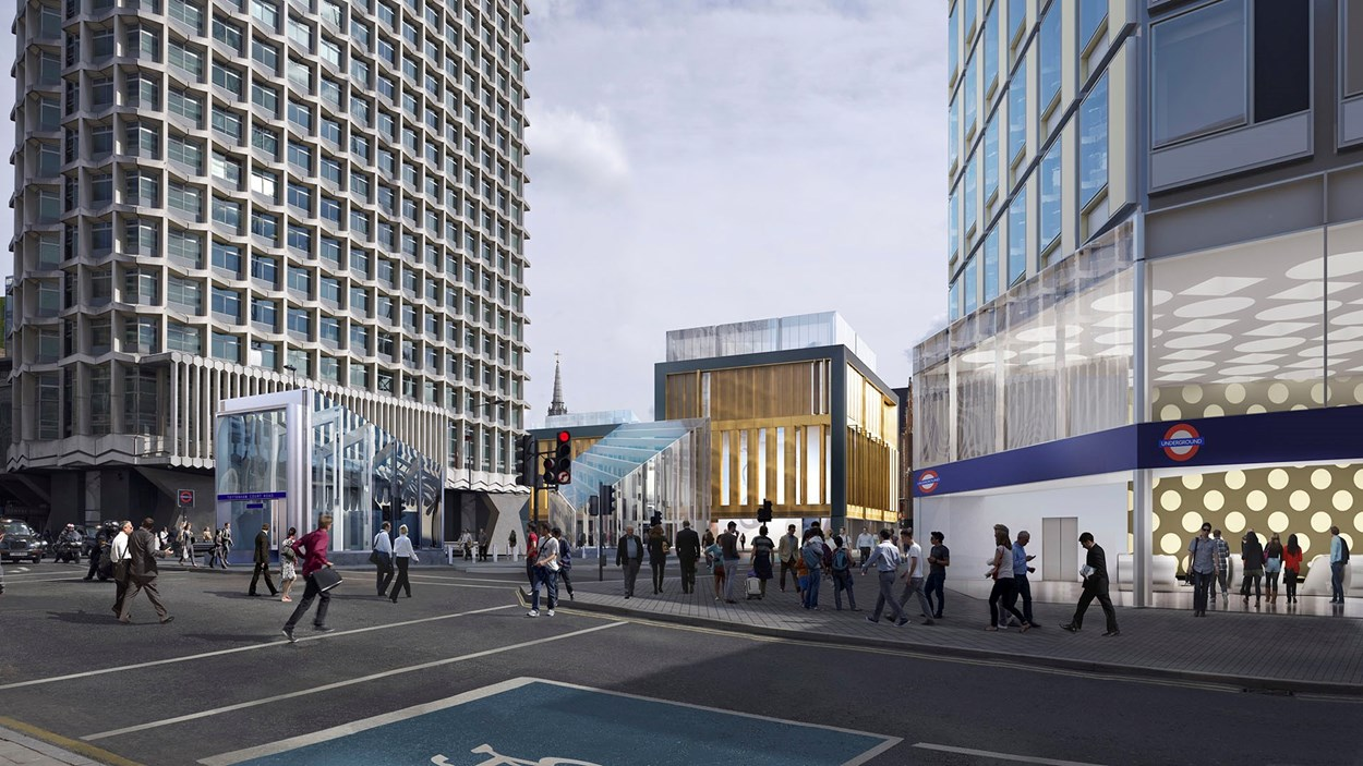 st giles circus development