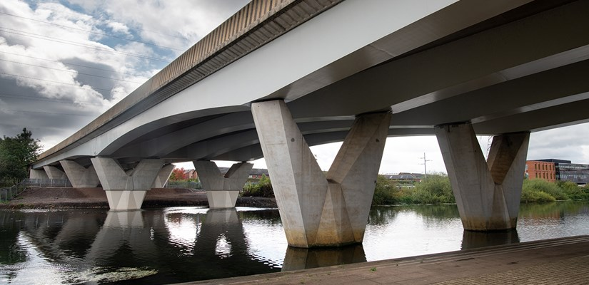 Skanska delivers first of its kind bridge strengthening project ahead of schedule