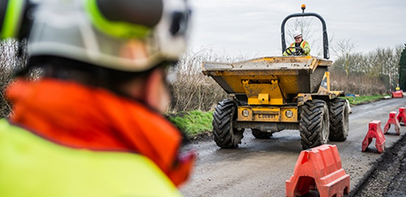 Council extends highways contract with Skanska
