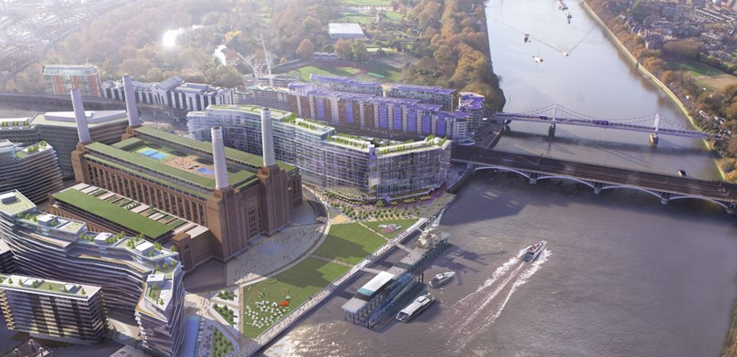 SRW will fit out 866 new homes as part of Phase 1 of the Battersea Power Station redevelopment in London.