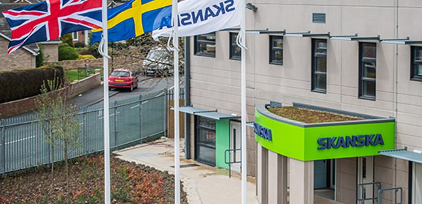 Skanska UK completes its greenest ever project