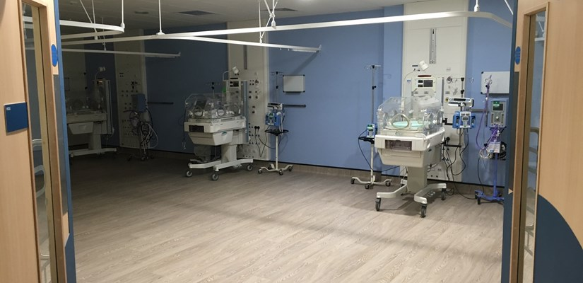 The new unit will provide care for extremely sick and premature babies