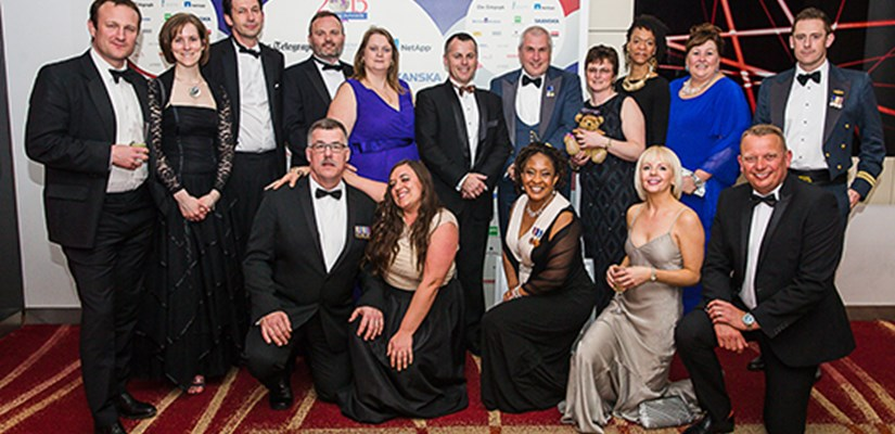 As part of Skanska's commitment to supporting and recruiting people from the armed forces, Skanska sponsored this year's Soldiering on Awards