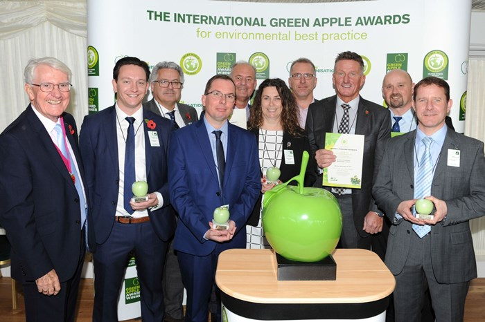 Council wins award for innovative recycled road scheme