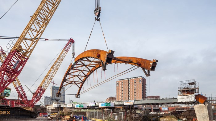 Ordsall Chord successfully transforming rail transport in the north