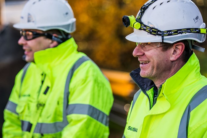 Skanska one of Britain's healthiest places to work