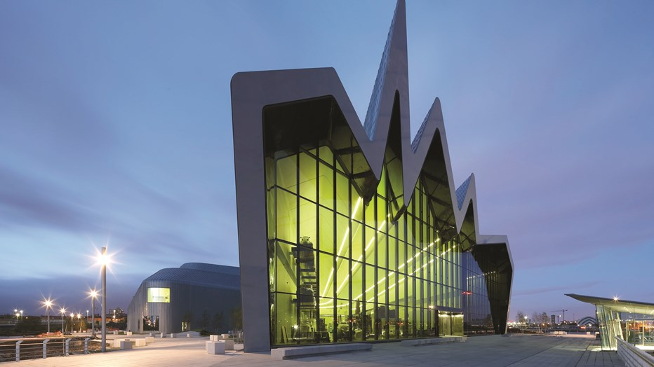 Clark and Fenn, part of SRW worked on the iconic Riverside Museum in Glasgow